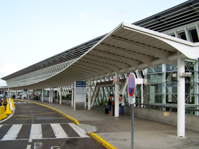 Pointe-a-Pitre Airport is the largest international airport serving the archipelago.