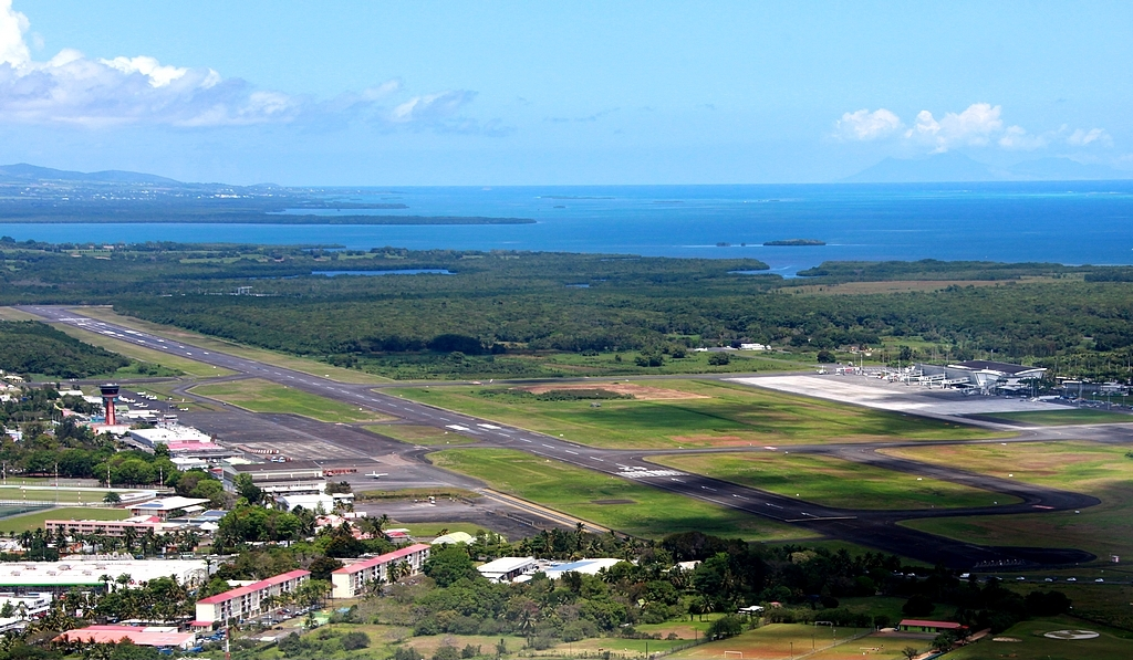 Guadeloupe Airport is located 3 km from Pointe-a-Pitre city centre.